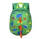 Kindergarten Rucksack Kinder Cartoon Tierpackung Netter Dinosaurierrucksack Mini-Tasche Monster Rucksack Grundschultasche ReißVerschluss-Rucksack Funktionsrucksack Schulrucksack,