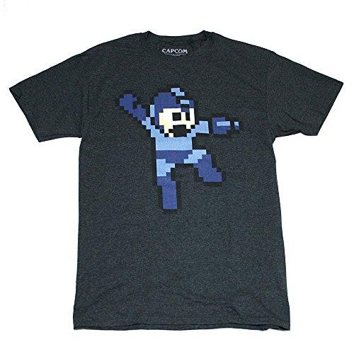 ロックマン ドットTシャツ(D・GREY)-Mサイズ [並行輸入品]