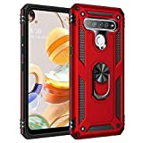 JIAFEI Case Compatible with LG K61, [Ring bracket Magnetic