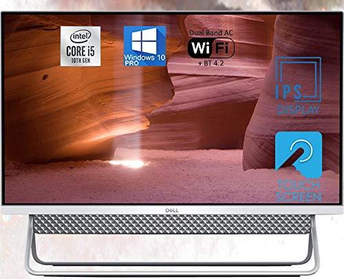 "Dell Inspiron 5490 All in One Desktop, 24"" FHD Touchscreen, Intel 10th Gen i5-10210U Upto 4.2GHz, 32GB RAM, 512GB NVMe SSD, Webcam, HDMI, SD-Card, USB Type-C - Windows 10 Pro"