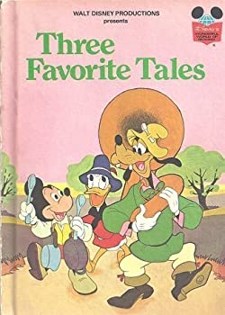 Three Favorite Tales - Book  of the Disney's Wonderful World of Reading