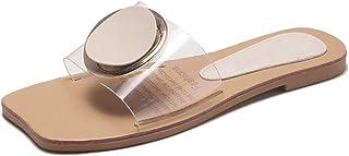 Vêtements, accessoires Sandales, chaussures de plage Sweet Femmes Chaussures Mules Compensées À Enfiler Sandales Bout Ouvert Cristal Parti creux NEUF