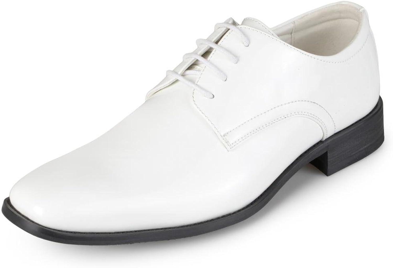 Vance Co. Mens Faux Leather Lace-up Dress shoes