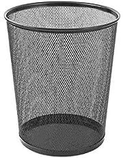 Kraf 540G Metal File Çöp Kovası, Gri