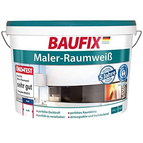 BAUFIX Maler-Raumweiß, 5 L