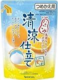 バスクリン なごみ ボディソープ 清涼仕立て さっぱり夏みかんの香り 詰替 400ml