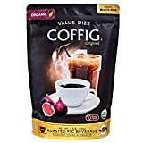 COFFIG Roasted Fig Beverage - Coffee Substitute - Caffeine Free - Certified 100% Organic Beverage - Sugar Free - Gluten Free - Fruit Energy Drink - Highly Concentrated,1 Lb. Value Size Bag