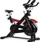Bicicleta de spinning tranquila bicicleta de spinning aparatos de ejercicios pedal de...
