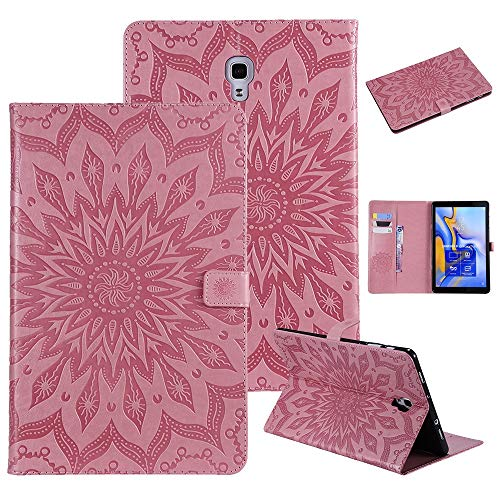 RZL PAD & TAB cases For Samsung galaxy Tab A 10.5 2018, Magnetic Case Leather Flip Stand Cover Auto Sleep Wake Tablet Cover For Samsung galaxy Tab A 10.5 2018 SM-T590 T595 T597 (Color : PK)