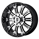 xd series hoss - XD Series by KMC Wheels XD795 Hoss Gloss Black Wheel With Machined Face (20x9