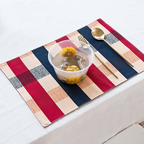 Modern And Simple Small Fresh Dinner Plate Mat, Bowl Mat, Table Mat, Rectangular Household Heat Insulation And Anti-Scalding Western Table Mat, Non-Slip Coaster Suitable For Cafes, Restaurants