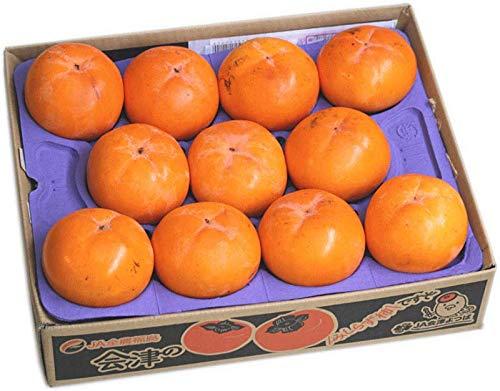 JA会津よつば「会津みしらず柿」 赤秀3.75kg(10〜22個)