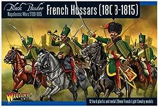 Black Powder Napoleonic French Hussars 1:56 Military Wargaming Plastic Model Kit