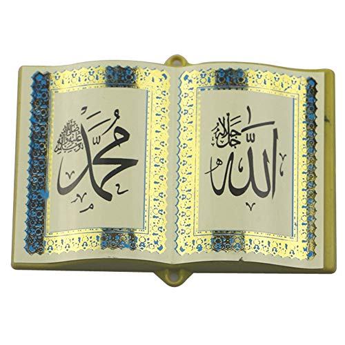 Decoración De Eid Frigorífico Etiqueta Engomada Biblia Nevera Libro De La Biblia Magnética Frigorífico Etiqueta Mubarak Eid Mubarak Cubierta Decoración Style1