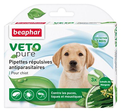 Beaphar VETOpure pipetas de Tratamiento antiparásito para Perros.