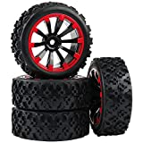 Rowiz 4 x Off-Road Wheels 12MM Hex Tires Crossing Tyre for RC...