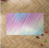 Oedim Alfombra Infantil Rayas de Colores para Habitaciones PVC | 95 x 200 cm | Moqueta PVC | Suelo vinílico | Decoración del Hogar | Suelo Sintasol | Suelo de Protección Infantil |
