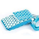 NFE² Jugendliches Leinen Etui blau - weiß für Nokia 3510i