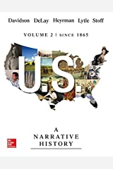 Us: A Narrative History Volume 2 W/ Connect Plus 1t AC Paperback
