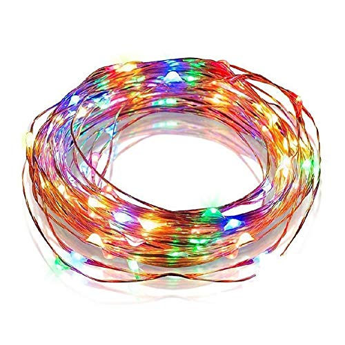 LONDADI Christmas Decorations Sale, 100 LEDs 8 Modes Solar Copper Strings Light Christmas Festival Stars Decor Lamp Merry Christmas Ornaments Xmas Decor Party Decor Xmas Gifts Stocking Fillers