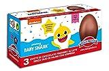 Tripack 3 Ovetti di Cioccolato al Latte BABY SHARK con Sorpresa