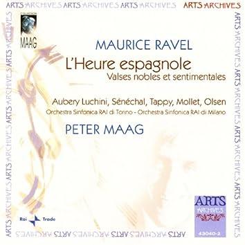 Ravel: L'Heure Espagnole / Valses Nobles Et Sentimentales