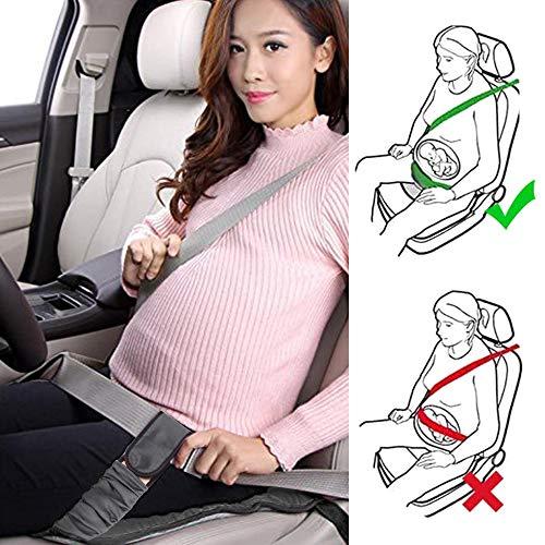 Rovtop Cintura di Sicurezza in Gravidanza, Cintura Auto per Gravidanza, Protegge Bambino e Madre, Evitando Rischio di Aborto