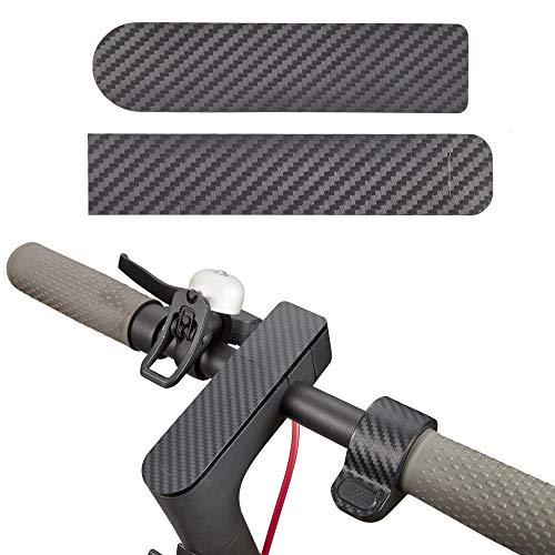 Atuka M365 Película de Pantalla Película Protectora de Fibra de Carbono Interruptor Panel Película Acelerador Pegatina Pegatinas Impermeables para Xiaomi Mijia M365 Scooter eléctrico