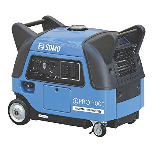 SDMO IPRO3000E 3kW Yamaha MZ171 Super Silent Suitcase Inverter Generator