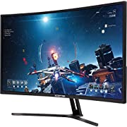 Sceptre C325B-185RD Curved 32-inch Gaming Monitor up to 185Hz 165Hz 144Hz 1920x1080 AMD FreeSync HDMI DisplayPort Build-in Speakers, Machine Black 2020