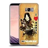 Head Case Designs Licenciado Oficialmente AMC The Walking Dead Ame La Ballesta De Daryl Tipografía Carcasa rígida Compatible con Samsung Galaxy S8