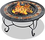 Centurion Supports Fireology DAKOTA Garden Heater / Fire Pit / Coffee Table, Barbecue / Ice Bucket -...