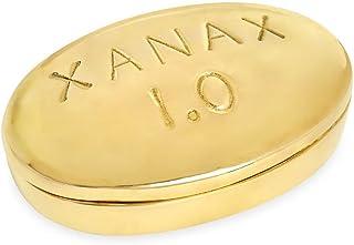 Jonathan Adler - Brass Pill Box - Xanax