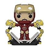 Pop! Iron Man 2: Iron Man MKIV with Gantry Glow-in-The-Dark Deluxe Vinyl Figure