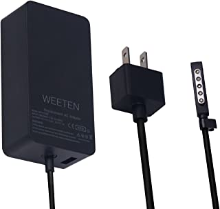 WEETEN 48W 12V 3.6A Power Supply Compatible with Microsoft Surface Pro 1/2 Surface RT Surface 2 Windows 8 Tablet Laptop AC Adapter Charger Replacement Cord, USB Port 5V 1A