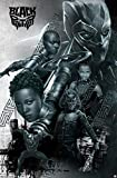 Trends International Marvel Cinematic Universe - Black Panther - Group Wall Poster, 22.375