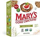 Mary's Gone Crackers Herb Crackers, Organic Brown Rice, Flax & Sesame Seeds, Gluten Free, 6.5 Ounce