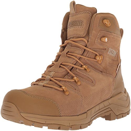 WOLVERINE Men's Contractor LX WPF Soft-Toe Construction Boot, Coyote,...