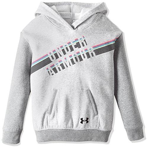 UNDAS|#Under Armour Under Armour Mädchen Favorite Fleece Hoody Oberteil, Air Force Gray Heath, YS