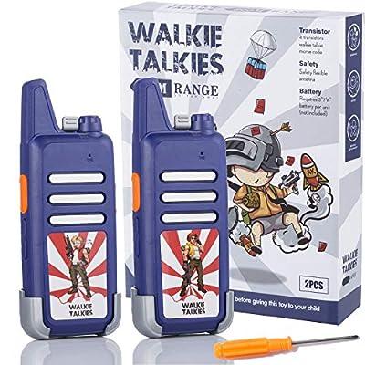 Walkie Talkies for Kids, Handheld Long Range wi...