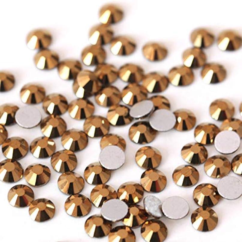 モニターアグネスグレイ地味な【ラインストーン77】 ガラス製ラインストーン ゴールドマイン 各サイズ選択可能 スワロフスキー同等 (SS30 約45粒)