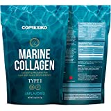 CORREXIKO Premium Marine Collagen Peptides - Wild Caught Fish from Canada (Not Farmed), Protein Powder for Skin, Hair, Nails, Joints & Bones & Digestive Health - Hydrolyzed (Unflavoured)