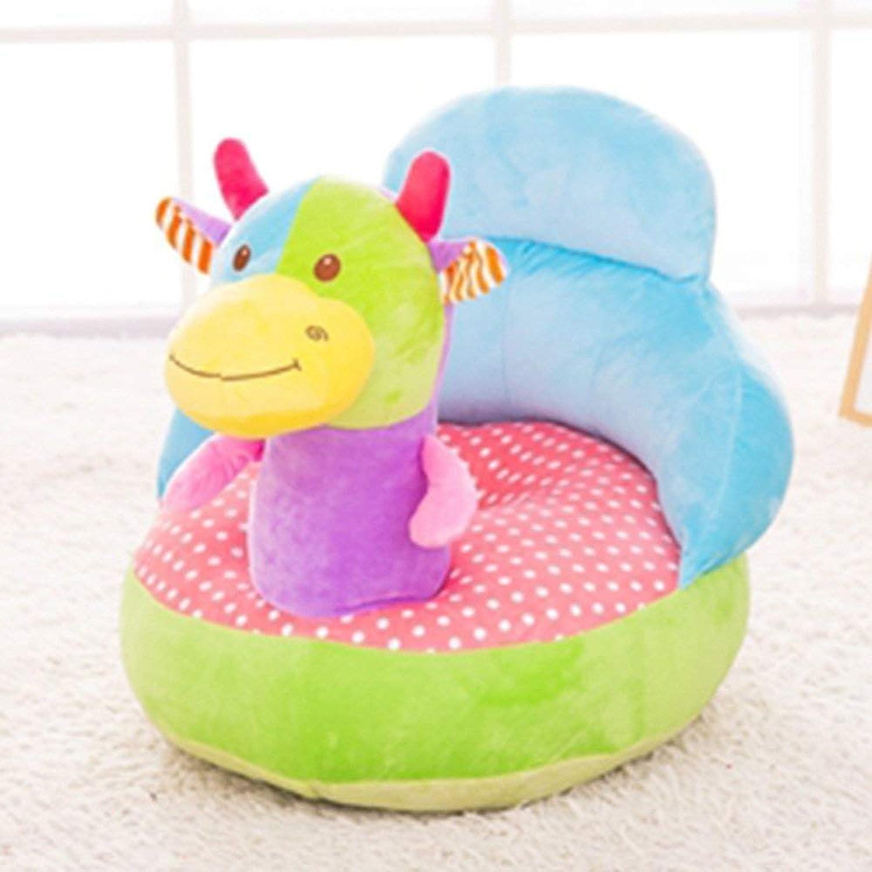 QTQZ Brisk Toy Monkey Kids Lazy Sofa Cartoon Unicorn Seat Stool Boy Girl Sofa Stool (color Optional) (color  6)