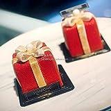 ClarkSM Geschenkbox Kleine Quadratische Mousse Silikonform Pudding Silikon Haushalt Weihnachten Gebacken Kuchen Schleifmittel