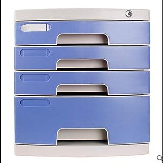 KANJJ-YU Classeur tiroirs de bureau Multidrawer Armoire de rangement des fournitures de bureau Accessoires de bureau (Coul...