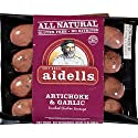 Aidells Smoked Chicken Sausage, Artichoke & Garlic, 12 oz. (4 Fully Cooked Links)