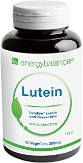 Luteina LuteEye + Zeaxantina Capsule   Carotenoidi antiossidanti   VEGAN   ALTO DOSAGGIO  Senza glutine   Alta biodisponib...