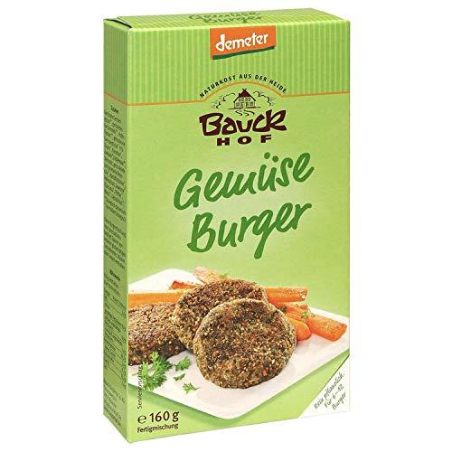 Bauck Bio Gemüse Burger, 160 g
