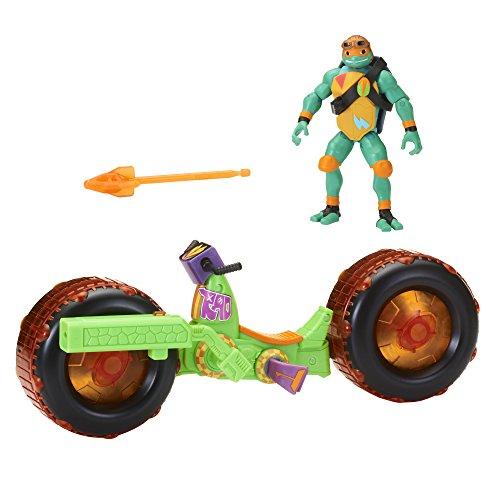 Rise of the Teenage Mutant Ninja Turtles Ninja mutante Tortugas Adolescentes Cerdo cáscara con Michelangelo