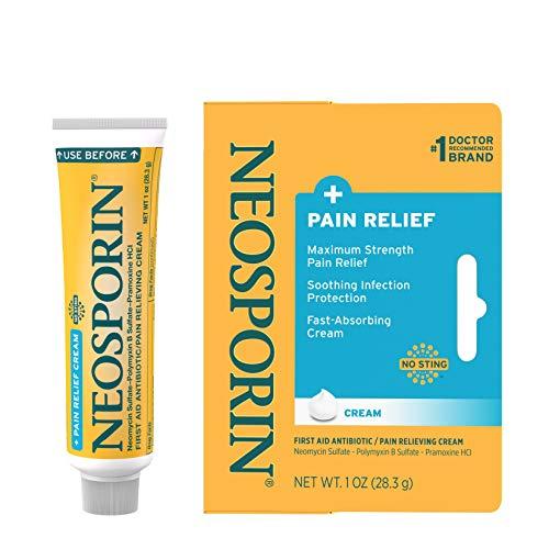 Neosporin + Pain Relief Dual Action Cream